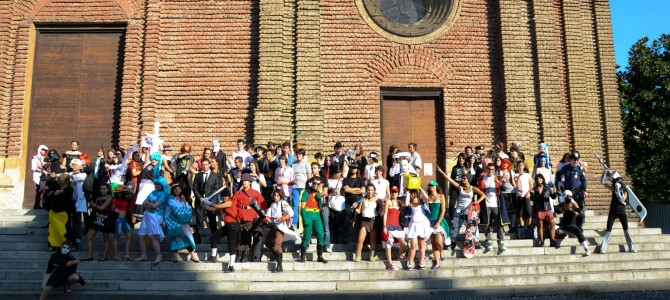 Cosplay in Pavia