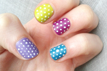 Easter eggs nailart