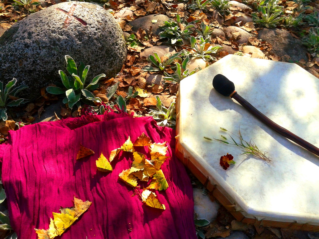 autunno fall autumn drum tamburo