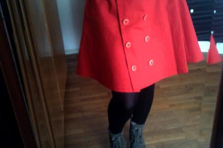 H&M highwaisted skirt how to