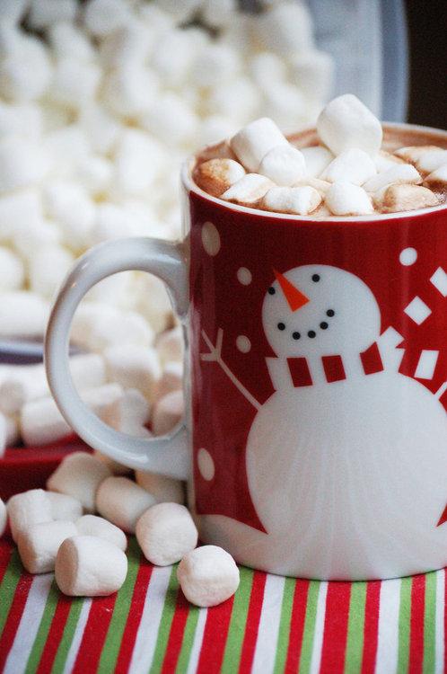 hot cocoa, marshmallow, cioccolata calda, natale