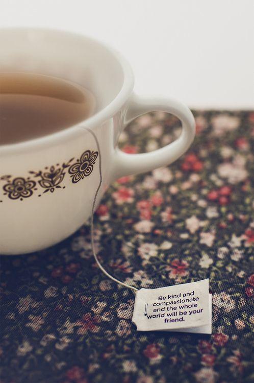 tea quote cup tè tazza bigliettino citazione