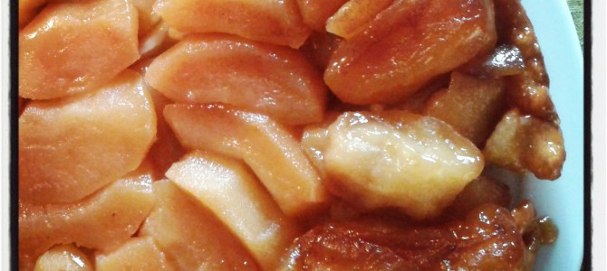 Tarte Tatin, the tale of a recipe