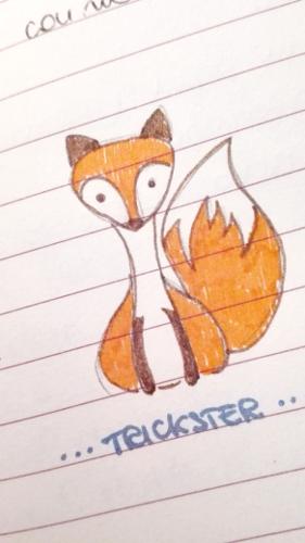 Mi sono disegnata un piccolo aiutante sulla mia agenda bullet :)