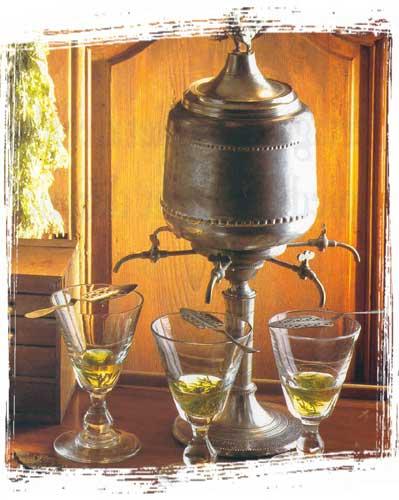 Distillerie Pierre Guy - Fontana per assenzio